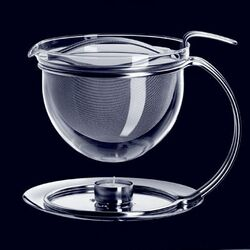 mono-Mono Filio Edition 50 oz. Teapot with Integrated Warmer by Tassilo von Grolman