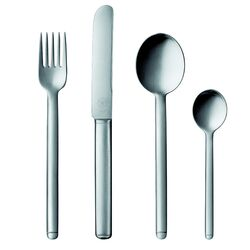 POTT-33 Collection Silver 5 Piece Flatware Set