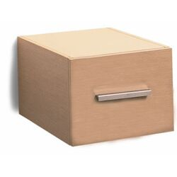 Brio Wall Mounted Wood Single Drawer