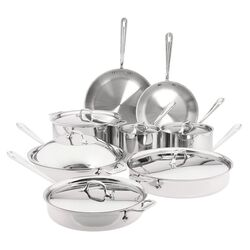Stainless Steel 14-Piece Cookware Set I