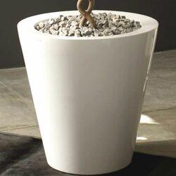Foc Cono Lacquered Round Flower Pot Planter