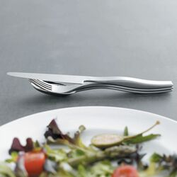 Acrobat Flatware Collection-Acrobat Serving Spoon