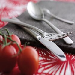 Steel Line Flatware Collection-Steel Line Serving Spoon