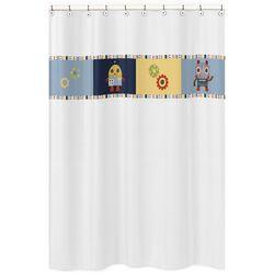Frog Vinyl Shower Curtain