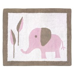 Pam Grace Creations Zigzag Elephant Kids Rug Amp Reviews