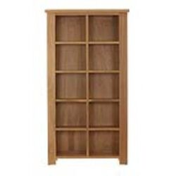 Baumhaus Aston Oak DVD / CD Storage Rack