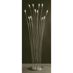 Villa Rivoli 12 Lights Floor Lamp in Chrome