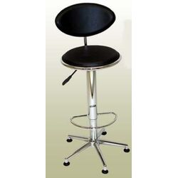 Soho Adjustable Swivel Stool in Black
