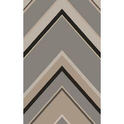 Modern Classics Gray Geometric Area Rug
