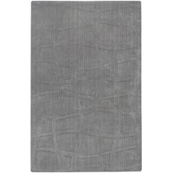 Sculpture Gray Checked Rug