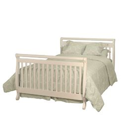 Athena Amy 3-in-1 Crib w/ Toddler Guardrail and 260-coil Mattress