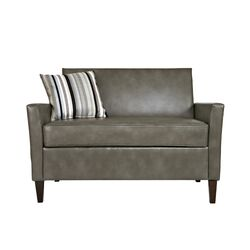 Sutton Renu Leather Loveseat