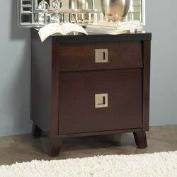Marlowe 2 Drawer Nightstand