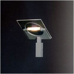 Rha Single Light Wall Sconce in Gray