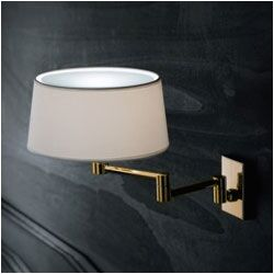 Classic Extendable Wall Sconce in Polished Brass