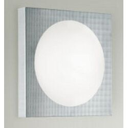 Dome One Light Wall Sconce in Silver Gray