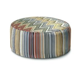 Osage Patchwork Pouf Bean Bag Chair