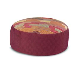 Nesmoth_Patchwork Pouf Bean Bag Chair
