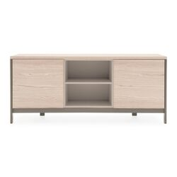 Factory Sideboard with Open Compartment