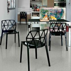 Alchemia and Key Dining Set-Parisienne Dining Side Chair