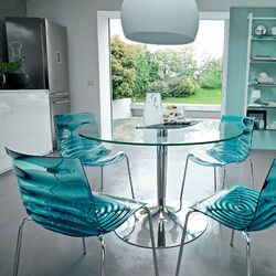 L'Eau and Planet Dining Set-L'Eau Side Chair