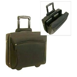 Stay-Open Business Laptop Briefcase