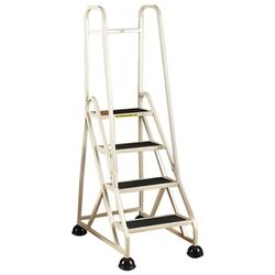 4-Step Ladder, w/ 2 Handrails, 24-5/8