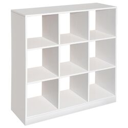Nine Cubby 3x3 Storage Unit