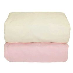 Arlington Organic Flannel Fitted Crib Sheet