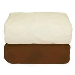 Arlington Organic Flannel Fitted Crib Sheet