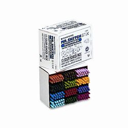 Scented Stix Watercolor Markers, Fine Point, 12 Colors, 216/set