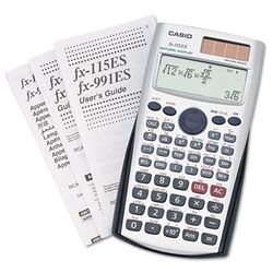 FX-115ES Scientific Calculator, 10-Digit x Two-Line Natural Textbook Display