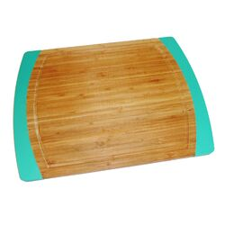 Bamboo and Silicone Non-Slip Cutting Board