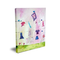 Words of Wisdom Make Believe Canvas Art