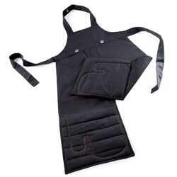 Apron in Charcoal