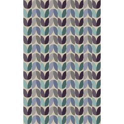 Native Ivory Geometric Area Rug