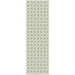 Native Ivory/Sea Foam Geometric Area Rug