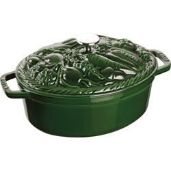 Vegetable Oval Dutch Oven
