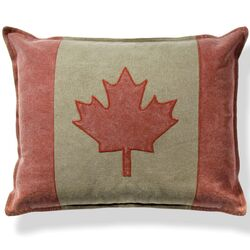 Canadian Cotton Throw Pillow (Set of 2)