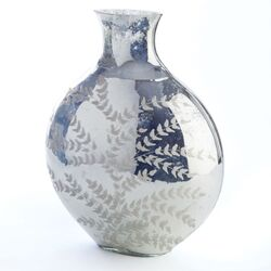 Hayworth Fern Etched Narrow Vase