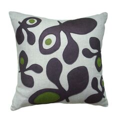 Pods Applique Pillow