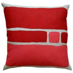Big Block Applique Pillow