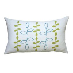 Hand Printed Branch Pillow