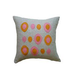 Eggs Applique Pillow