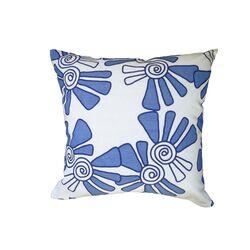 Hand Printed Linen / Cotton Pillow Alex