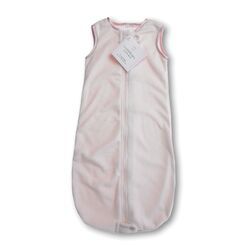 zzZipMe Sack in Pastel Pink Baby Velvet Solid Pastel