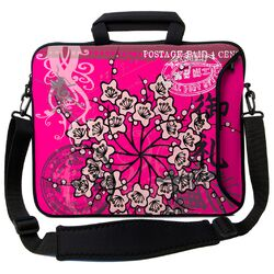 Executive Sleeves Pink Orient PC Laptop Bag