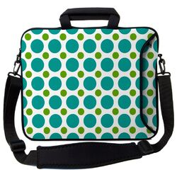 Executive Sleeves Polka Dots PC Laptop Bag