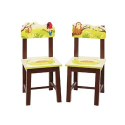 Jungle Party Kids Desk Chair