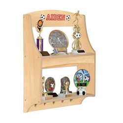 Personalized Furniture Expressions Trophy Rack